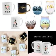 [Personalised Gift] - Glass Mugs / Customised Mugs/ Customised Glass Cup