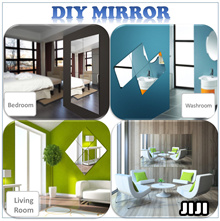 ★DIY★ Acrylic Mirror ★Wall Glass Mirror ★ Wall Paper ★ Home Decor ★ Decoration ★