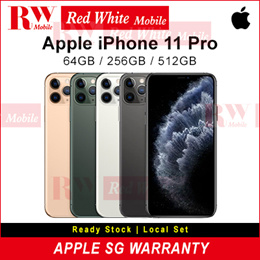 Apple iPhone 11 Pro Local Set With Singapore Apple Warranty 12 Mths