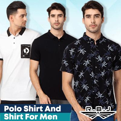 [bajubaju.com] Polo Shirt and Shirt For Men Deals for only Rp167.500 instead of Rp167.500