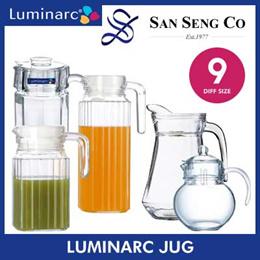 Luminarc Jug★Quadro/Octime/Tivoli/Balooon/Arc Jugs! 500ml to 1.7Litre.