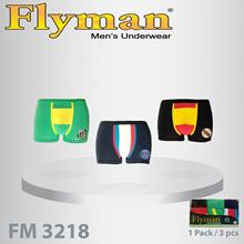 Flyman Pakaian Dalam Pria Dewasa  Boxer Pria Dewasa 1 pack3PCS FM 3218 c37157525a