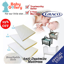 Playpen form mattress with Breathable Hole Multi able  size baby cot size  Graco playpen