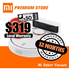 Xiaomi Mi Robot Vacuum Cleaner | English Version | FREE 1 Year SG Warranty|Local Stock Local Warrant