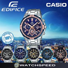 Casio Edifice EFR-554 Series Standard Chronograph Mens Watch