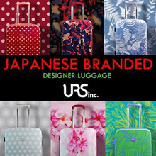 *NEW ARRIVAL* Premium Branded Japanese Designer Luggage