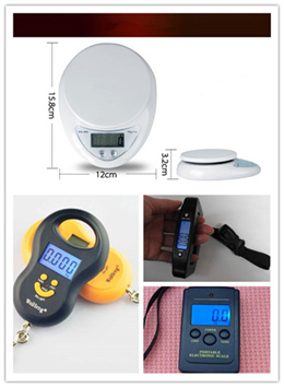 WeiHeng® Kitchen Weighing Scale Portable and Digital Ideal for cookingsellers travellers! Weighing Scale