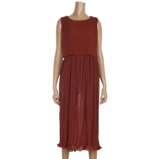 レコブ女性衣類二段ナッシーしわワンピースLU3178OP656X 面ワンピース/ 韓国ファッション