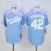 Los Angeles Dodgers 42 Jackie Robinson jersey baby blue Baseball Jerseys S  M L XL XXL XXXL Stitched 9ad922c4e61
