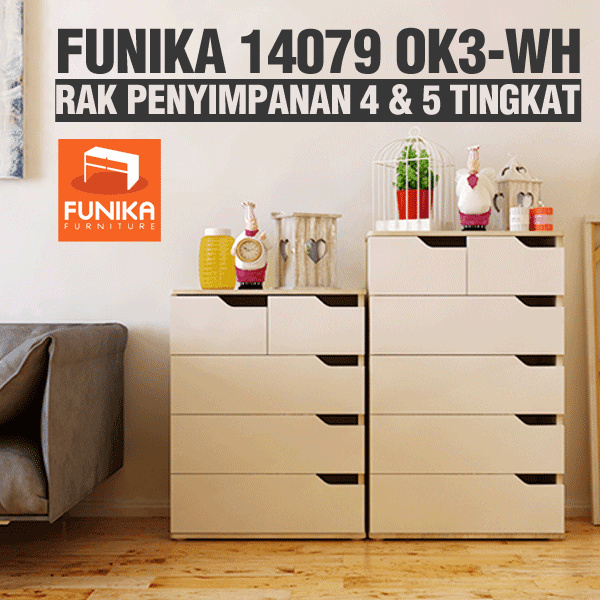 [FREE SHIPPING JABODETABEK]Funika 14079 OK3-WH Deals for only Rp1.097.000 instead of Rp1.097.000