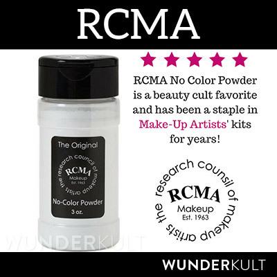 RCMA Loose Powder * RCMA no-color powder * RCMA translucent powder