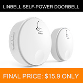 💖LOCAL SELLER💖[Linbell] Waterproof Self-Power Wireless Doorbell Linbell G2 G3 G4 Singapore