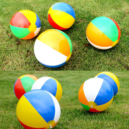 1Pcs Beach Pool Ball Inflatable Aerated Air Stress Water Educational Toys