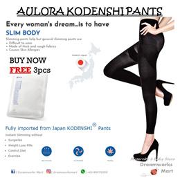 [READY STOCKS | FREE SHIPPING + GIFTS] Authentic Aulora Kodenshi Slimming Pants | Maternity Pants