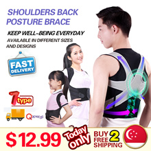 ❤Q10 Recommend!!!❤ShoulderBack Posture Brace❤6+6 Magnet Strength❤U9 Star❤Breathable U9+/Unisex/Ages