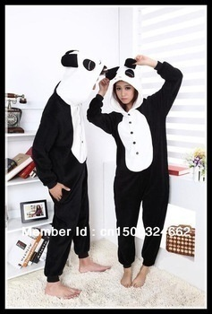 039,- Japan Unisex Anime Kigurumi Pajamas Panda Cosplay Costume Pyjamas  Hoodies Party Onesies Fleece 67bc23f40ad77