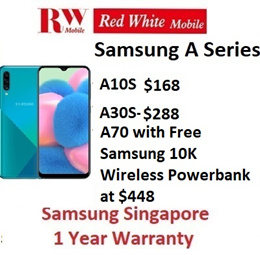 Samsung Phones A70 A10s A30s 4gb Ram 64gb Rom |1 Year Samsung Warranty | Singapore Warranty Set