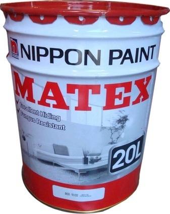 Qoo10 - Nippon Paint Matex 20 Litre Emulsion Paint for Interior ...