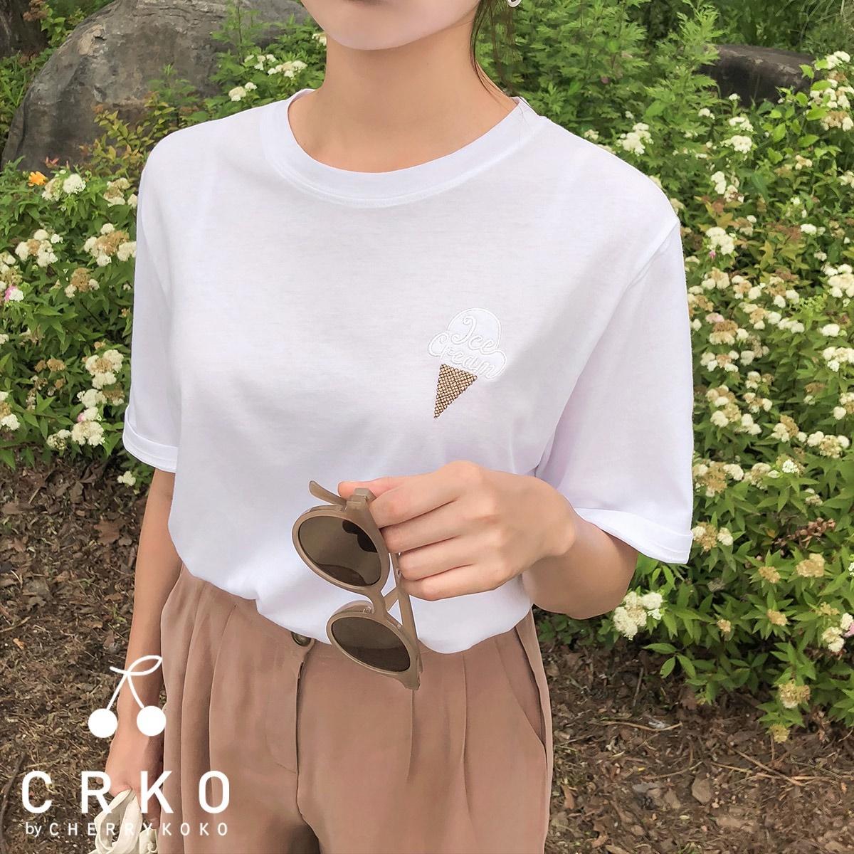 [CHERRYKOKO官方旗艦店] 冰淇淋T恤 / ice pop tee