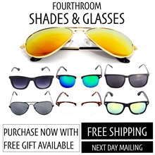 [Fourthroom] Sports Sunglass/ Korean Sunglass/ Clubmaster / Unisex/ UV400/ Mirror Lens/Gradient Lens