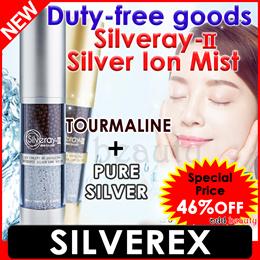 ♥Apply Qoo10 Coupon♥ 3th restock [SILVEREX] Silveray-Ⅱ/Silver Ion Mist/Spray/Tourmalin/