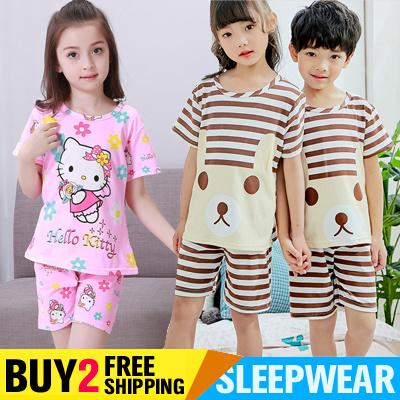 fb393e270 BUY 2 FREE SHIPPING Kids Sleepwear Cute Cartoon Boys and Girls Pyjamas  Childrens Pajamas for 2-15