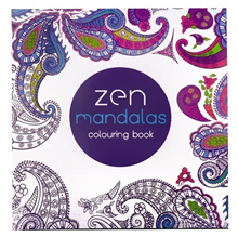 Korea Mandalas Coloring Books for adults children Colouring Book (Size: 19cm by 19cm)