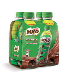 MILO RTD ACTIV-GO Nutri Up 225ml x 4