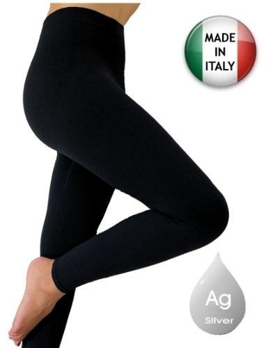 762f4b7c8060e Qoo10 - Anti cellulite slimming leggings (Fuseaux girdle)+silver (M ...