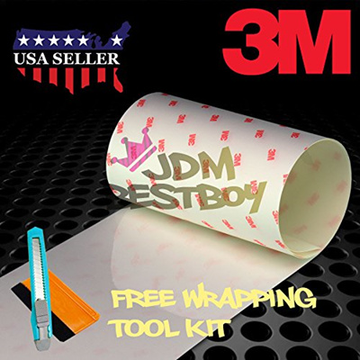 FREE TOOL KIT 3M Scotchgard Hood Bumper Paint Protection Brace Clear Film  Vinyl Wrap Decal Self Adhe