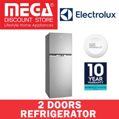 qoo10 electrolux etb2600mg 254l 2 doors fridge