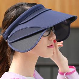 Male female sun visor Hat summer riding outdoor UV Beach summer sun hat Korea version