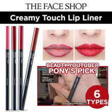 PONY PICK ! [The Face Shop] Creamy Touch Lip Liner 6TYPES