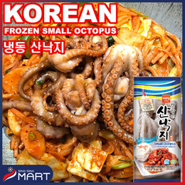 ★Frozen Small Octopus★Korean spicy stir-fried Korean Health Sea Food SINGSINGMART