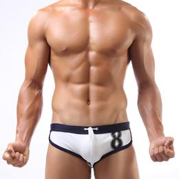 98 or email genuine ONMUCH swim trunks men&#39 s fashion spring triangle swimwear men swimwear plu