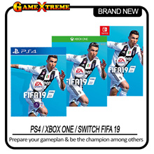 PS4 / Switch / Xbox One FIFA 19 Normal Edition.