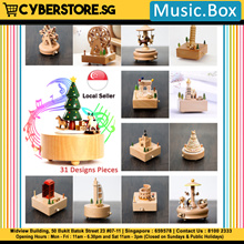 Music Box Home Display Decorations Collections Various Design - Christmas Gift Christmas Tree