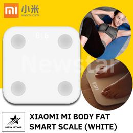 【$34.90 - Sure Win Auction】Xiaomi Mi Body Fat Smart Scale White  SG Seller  [NEW]