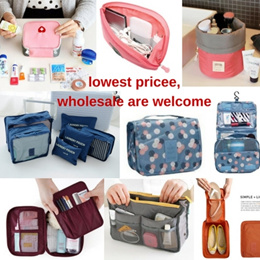 [SG Seller FREE SHIPPING ] Travel storage bag in bag backpack organizer cosmetics/clothes/shoes/