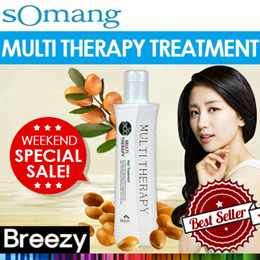 BREEZY ★ [sOmang] Organic Multi Therapy Treatment 160ml / Award Winner One Bottle Sold Every One Min