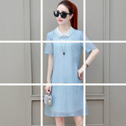 775fe8dca45c Quick View Window OpenWish. rate new. 2018 Summer new Korean style loose  big size doll shirt shade Skinny medium Chiffon dress female Tide