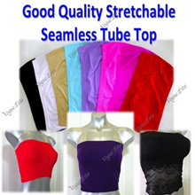 * Good Quality Seamless Tube Tops * Short Seamless Tube * Long Tube Top * Lace Tube Top * Vogue.esta