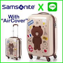 [SAMSONITE X LINE FRIENDS KOREA]◆Sale Event◆Travel Carrier Luggage SuitCase 20 inch Polycarbonate