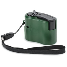 Dynamo Hand Crank USB Cell Phone Emergency Charger (Green)