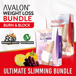 [BURN N BLOCK] AVALON Slimming Bundle | Burn Fats Block Carbs | Best Combo