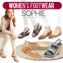 WOMENS FOOTWEAR COLLECTION - KOLEKSI SEPATU WANITA - FLATS-HEELS-SANDALS