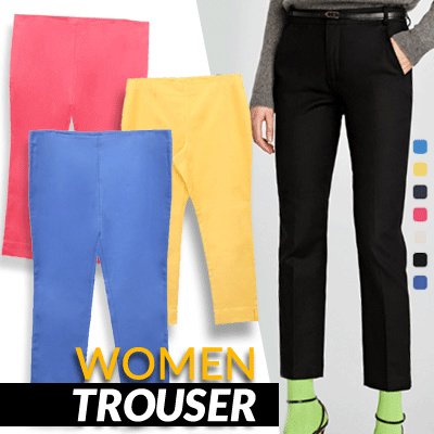 New Collection Women Trouser Deals for only Rp63.000 instead of Rp63.000