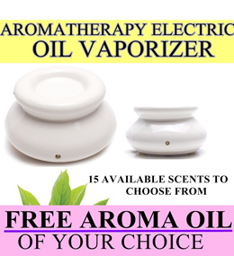 BEST OFFER - Electric Aromatherapy Oil Burner/Aroma Vaporizer/ Aromatherapy Aroma Oil Diffuser