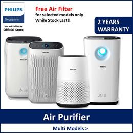 Philips AC0820/AC1215/DE5205/AC2882/AC2887 Air purifier/Dehumidified (Free filter while stock last)