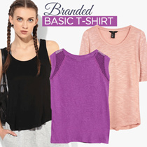 BEST SELLER! Branded Basic T-shirt For Women - 8 Style - Good Quality